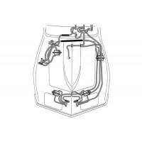 C3 Vacuüm slangen koplamp & Wisserdeur